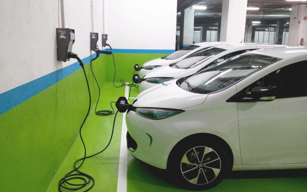 Precio punto de recarga coche eléctrico en garaje comunitario